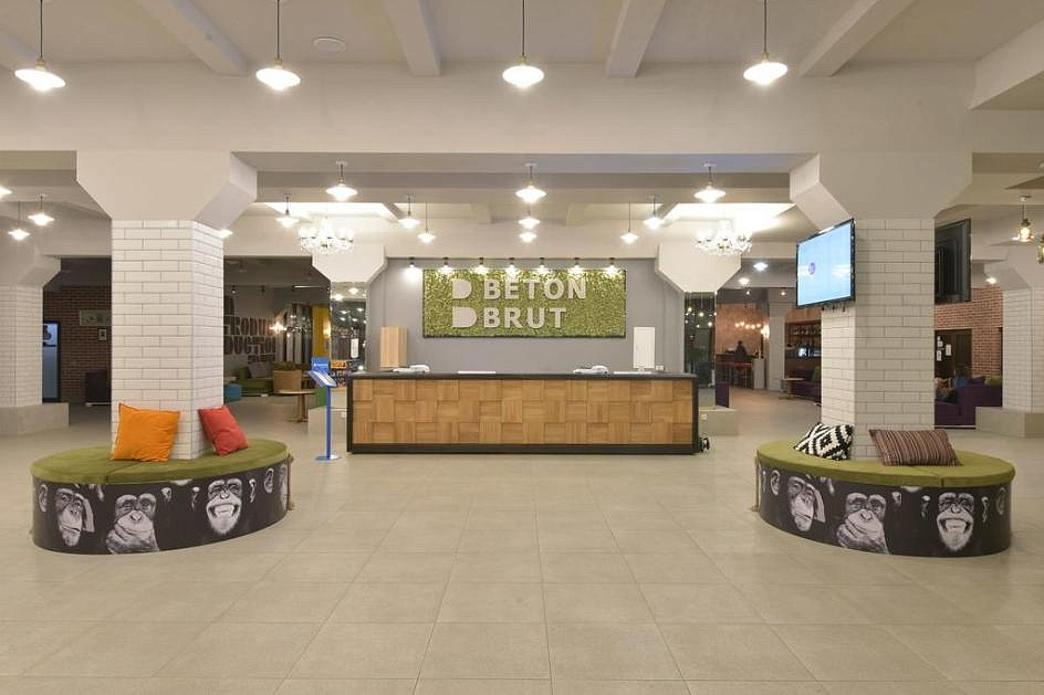 Отель BETON BRUT All inclusive & SPA